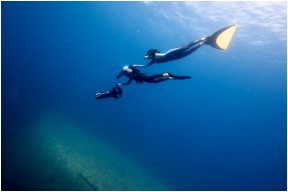 Okinawa freediving